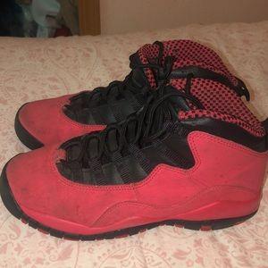 "Air Jordan 10 Retro (gs) ""Fusion Red"""